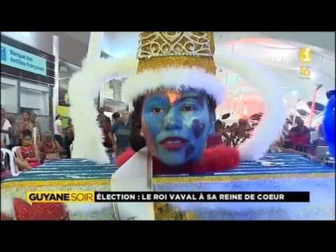 Election : Le Roi Vaval a sa Reine de coeur - Guyane 1ère