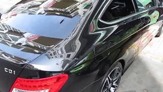 MERCEDES C220 Sport Carnauba Paint Protection By VIREO Car Wash Maroc