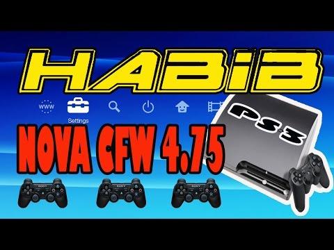 como instalar CFW HABIB 4.75 ps3