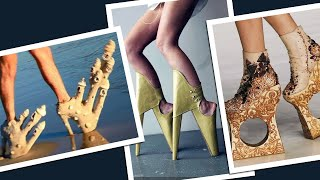 It is every designer's dream to create something that's novel and wonderful. However some of these designers seem to have focused too much on the novel part and forgotten about the wonderful aspect. Though certainly unique, will you actually dare to be seen with any of these out of the house?Presenting 10 Most Bizarre Sandal Designs!..............................................................Click to Subscribe - http://goo.gl/47SV9mShare on Facebook - http://goo.gl/SpKzqyShare on Twitter - http://goo.gl/lio3YPGoogle Plus - http://goo.gl/rnZRb8..............................................................Follow us on Twitter - www.twitter.com/toptenamazingLike us on Facebook - www.facebook.com/thetoptenamazing..............................................................