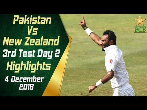 Pakistan Vs New Zealand | Highlights | 3rd Test Day 2 | 4 December 2018 | PCB_Legjobb videók: Sport