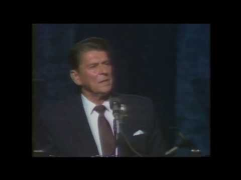 JamesRobison - Original footage from the 1980 National Affairs Briefing in which James Robison and then-governor Ronald Reagan addressed religious leaders.