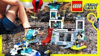 Video Lego City Police Prison Island Escape! MP3, 3GP, MP4, WEBM, AVI, FLV Juli 2018