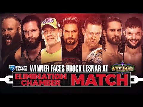 FULL MATCH - Strowman vs. Cena vs. Reigns vs. Rollins vs. Bálor vs. The Miz vs. Elias : WWE EC 2018