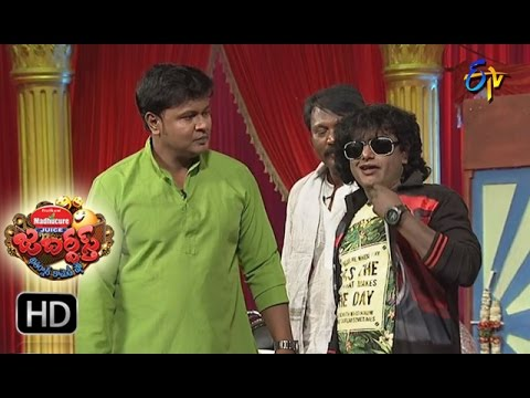 Bullet Bhaskar Sunami Sudhakar Performance | Jabardsth | 23rd March 2017