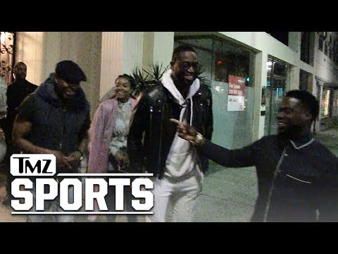 Dwyane Wade: 'Black History Month' Dinner w/ Dave Chappelle, Kevin Hart | TMZ Sports