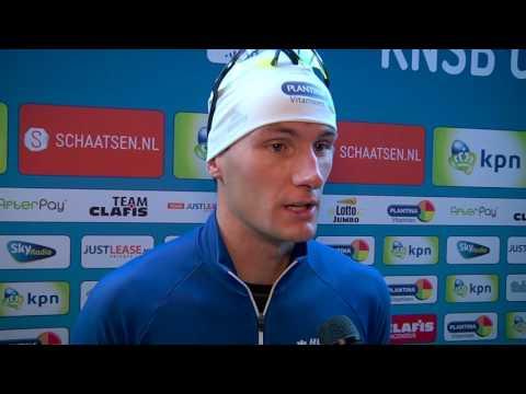 Thomas Krol plaatst zich voor de World Cup 1500 meter