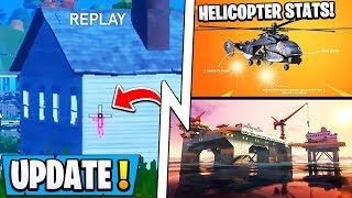 *NEW* Fortnite Update! | Our Choice = NEW Loot, 100% AIMBOT Glitch, Helicopters!