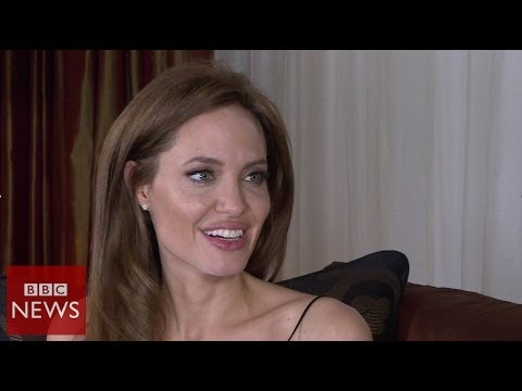 'I have a very fortunate life' Angelina Jolie - BBC News