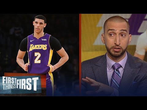Nick Wright on reports Ball camp leaked injury news to stop trade talks | NBA | FIRST THINGS FIRST
