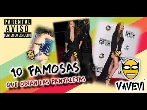 10 DESCUIDOS DE FAMOSAS   FAMOSAS QUE NO USAN PANTALETAS