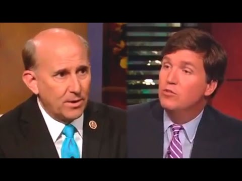 Louie Gohmert Makes Tucker Carlson Giggle By Demonizing Immigrants