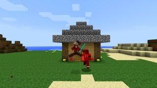 Minecraft Trolling: Building/Griefing (ItsJerryAndHarry)