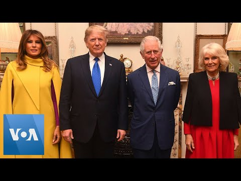NATO Summit: US President Trump, Melania meet Prince Charles and Camilla in London