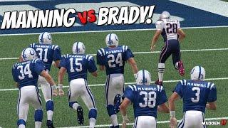 TEAM OF PEYTON MANNING'S vs TEAM OF TOM BRADY'S!! WHO WILL WIN? Madden 17 Challenge