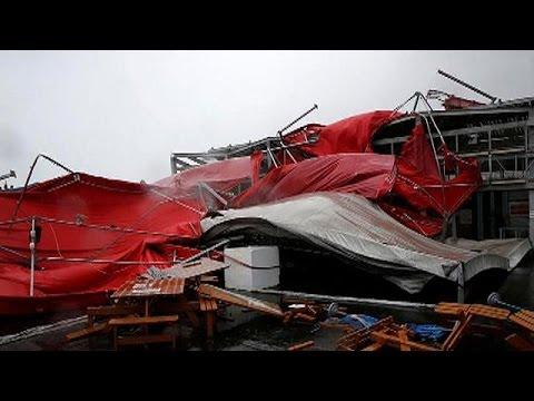 Σάρωσε την Ταϊβάν ο τυφώνας Μέγκι