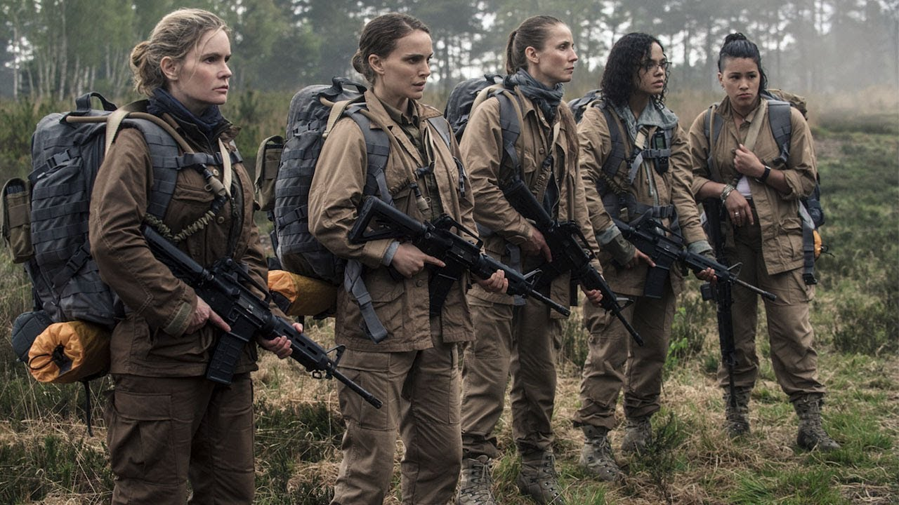 It's Expanding, It's Everywhere. Watch Natalie Portman & Tessa Thompson Fear What's Inside in 'Annihilation' (Evolution Clip) with Oscar Isaac