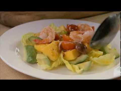 Charred Mango Salad with Prawns and Avocado – Harris Farm Markets