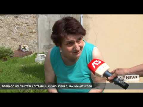 DEGRADO NEI CIMITERI, I CITTADINI: 'CI VUOLE PIU' CURA' | 04/07/2020