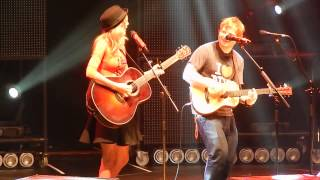 Ed Sheeran And Surprise Guest Taylor Swift Everything Has Changed At MSG 111- HQ