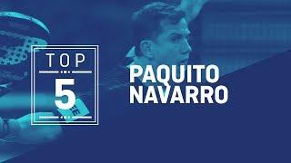 El Top 5 de Paquito Navarro | World Padel Tour