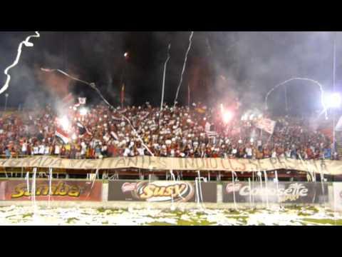 Barra del CaracasFC en Maracay - Los Demonios Rojos - Caracas
