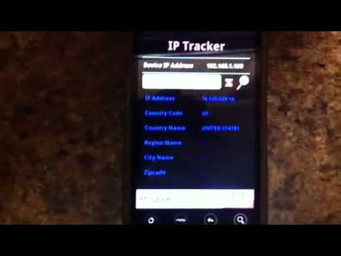 Video of IP Tracker