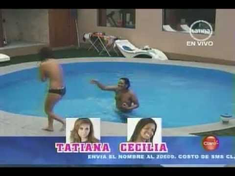 Topless Blooper en el programa de Susana Giménez