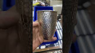 Стакан серебряный «Соты»