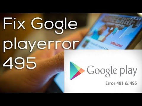 How To Fix Error 495 In Google Play Store Mp3