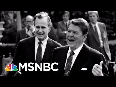 Was The Gary Hart Scandal Just A Set-Up By The George Bush Campaign? | Rachel Maddow | MSNBC
