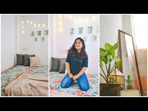 Small Bedroom Makeover || Rental Friendly Decor || Interior Maata