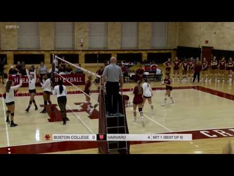 Recap: Women's Volleyball vs. Boston College