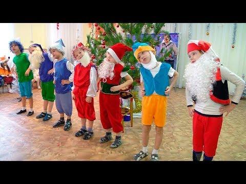 Новогодний утренник в cадике 2016-2017  (видео для развития детей) (видео)