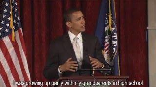 Barack Obama Inspirational Speech -- English subtitles