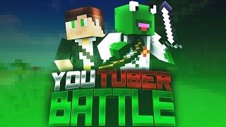 Minecraft YouTuber Battles! Episode 1 - TEAM GREEN! (YouTuber Factions)