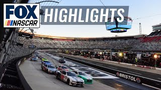 Food City 300 at Bristol | NASCAR on FOX HIGHLIGHTS by FOX Sports
