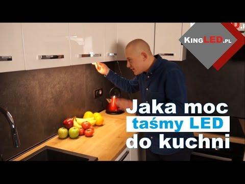 Jaką moc taśmy LED wybrać do oświetlenia kuchni?