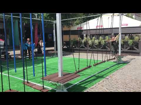 Wideo1: Małpi Gaj na leszczyńskim Rynku