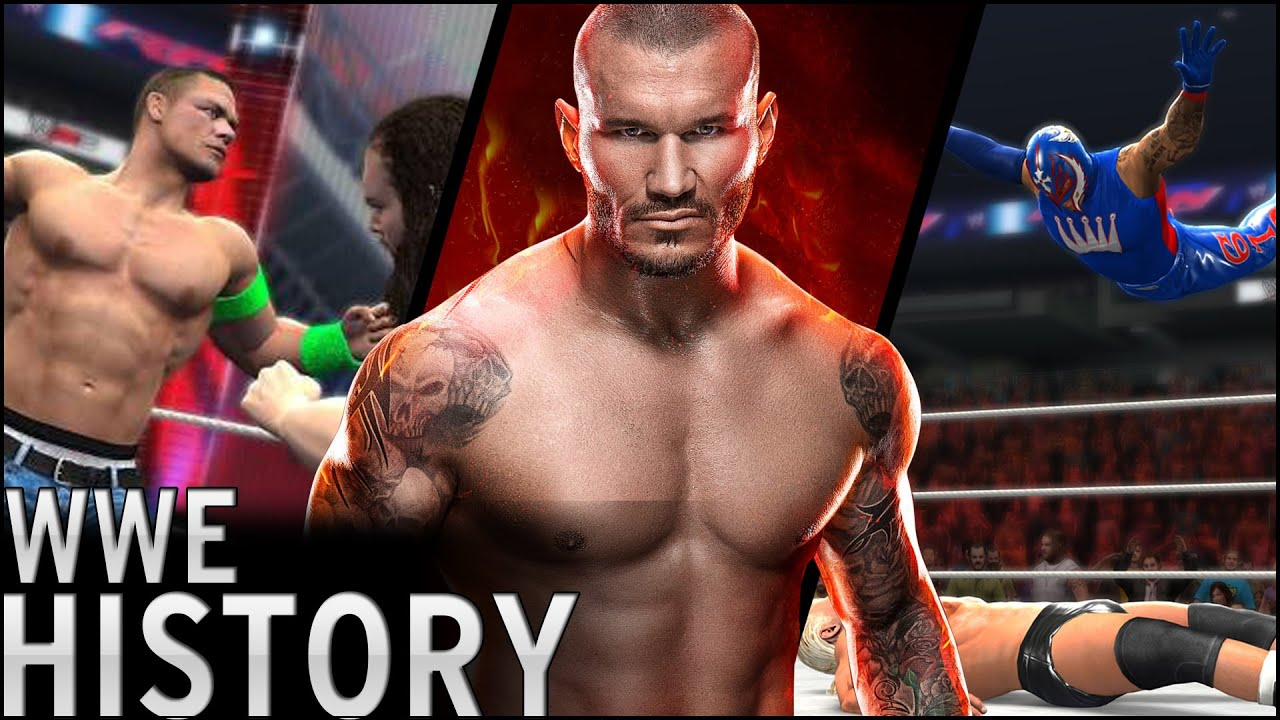 History of – WWF/WWE Video Games (1987 – 2016)