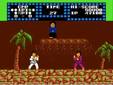 karate champ nes review