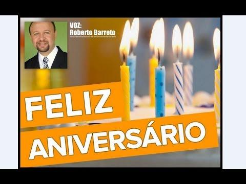 Mensagem de aniversário - MENSAGEM DE ANIVERSÁRIO... ROBERTO BARRETO LOCUTOR
