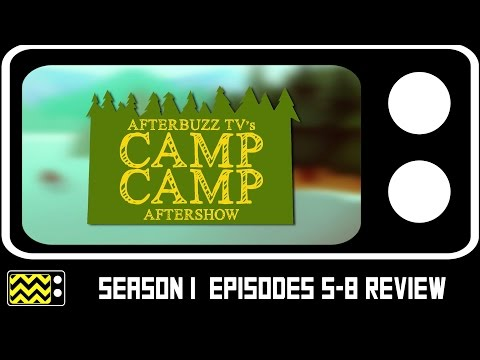 Camp Camp Season 1 Episodes 5 - 8 Review & After Show | AfterBuzz TV