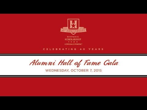 Alumni Hall Of Fame (AHOF) 2015