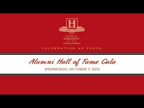 Alumni Hall Of Fame (AHOF) 2015