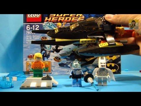 Vidéo LEGO DC Comics Super Heroes 76000 : Arctic Batman contre Mr Freeze : Aquaman dans la glace