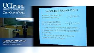 Molecular Structure&Statistical Mechanics 131B. Lec. 14. Electronic Spectroscopy (Pt. III)