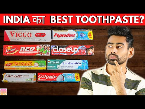 India का Best Toothpaste कौन सा है? | Fit Tuber Hindi