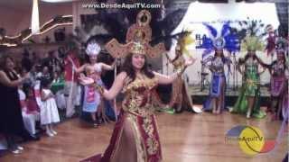 DesdeAquiTV.com, Princesas Mayas, Banda El Salvador, Desfile de las Rosas 2013.