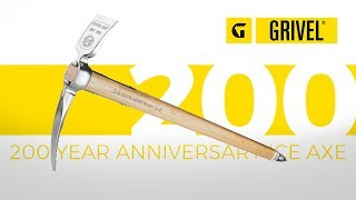 Grivel 200 Anniversary ice axe by WeighMyRack